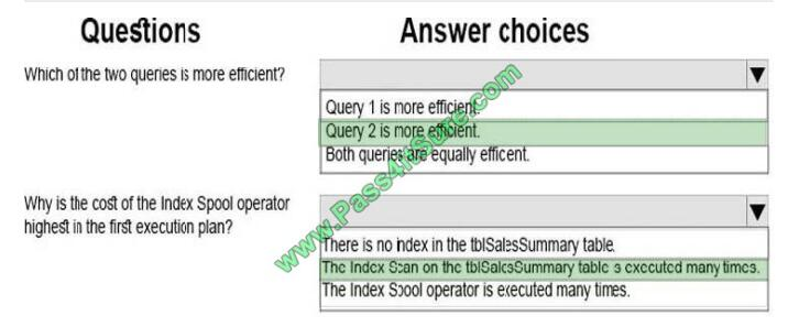 Pass4itsure 70-761 exam questions-q9-3