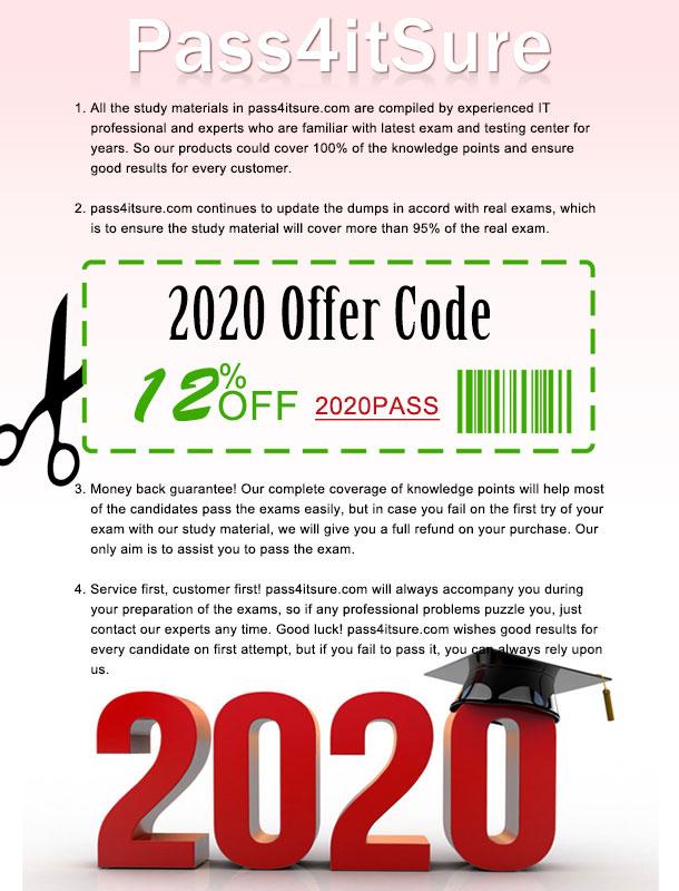 Pass4itsure coupon